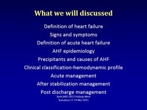 dr Nani Management in Acute Heart Failure - dr. Nani (Padang) Revisi