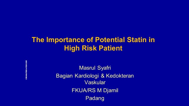 2 SLIDE DECK HIGH RISK PATIENT- ACS dr masrul