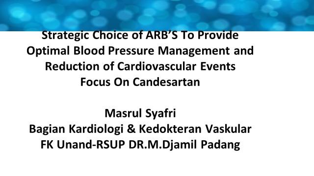 Oke Slide dr Masrul Canderin -  2014 Cardio