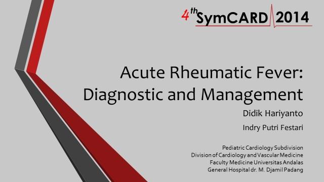 Slide ARF dr. Didik Symcard